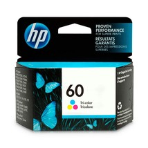 HP 60 Tri-color Original Ink Cartridge CC643WN - $21.01