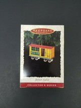 "1996 Hallmark Keepsake Ornament ""Yuletide Central"" Mail Car Collector's ... - $11.26"