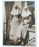 Grand Duchesses Olga And Tatyana As Nurses Russian Royalty Postcard Phot... - $1.70