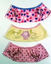 Cabbage Patch Kid Clothing Lot Of 3 Shorty Shirts For Small Infant Dolls - $9.99