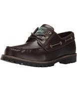 Woolrich Men's Trout Run Boat Shoe, Dark Brown, 11.5 M US - $44.99