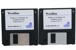 Newsoft Wordlinx OCR Software for Windows 3.1 and Windows 95 Item 96 000... - $4.99