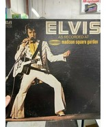 Elvis as recorded at Madison Square Garden - $35.00