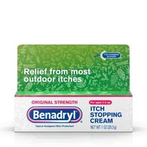 Benadryl Original Strength Itch Relief Cream, Topical Analgesic, 1 oz. - $10.88