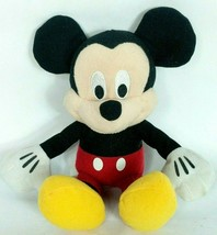 "Disney Just Play Mickey Mouse Black Red Plush Stuffed Animal 10.5"" - $14.85"