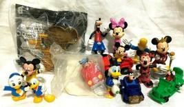Lot 14 Disney Friends Figures Mickey Minnie Donald Goofy Pluto McDuck - $9.89