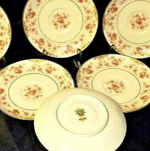 Noritake China (8 Saucers) Charmaine 5506 AA20-2360B Vintage image 3