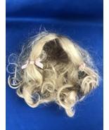 """Vintage Doll Wig 8"""" Back Drop - $9.90"""