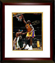 Shaquille O'Neal signed Los Angeles Lakers 16x20 Photo Custom Framed #34... - £168.05 GBP