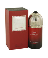 Pasha De Cartier Noire Sport by Cartier, EDT Men 3.3oz - $48.97