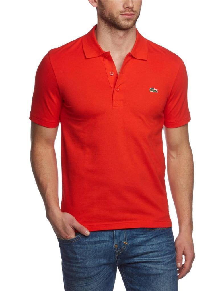 NEW LACOSTE SPORT MEN'S ATHLETIC COTTON POLO T-SHIRT ETNA YH7680 51 CAD T5