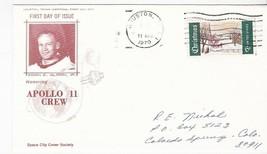 "APOLLO 11 CREW EDWIN ""BUZZ"" ALDRIN HOUSTON TX APRIL 11 1970 SPACE CITY C... - $2.98"