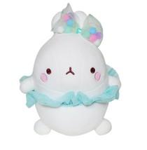 "Molang Ballerina Ballet Costume Rabbit Stuffed Animal Plush Pet Toy Cushion 9.8"" image 1"