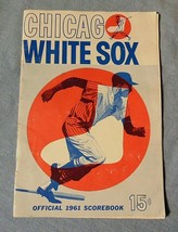 Chicago White Sox MLB Official 1961 Scorebook Vs. Kansas City Nellie Fox... - $33.86