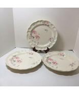 """3 Dinner Plates Secret Rose Pfaltzgraff 10.25"""" - $24.18"""