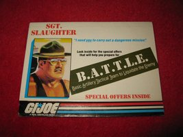 1987 G.I. Joe ARAH Action Figure: Exclusive Offers Mail Away form- mini ... - $6.00