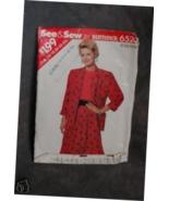 Butterick Pattern #6523 Misses' Jacket,Top & Skirt sz(16-24) - $1.75