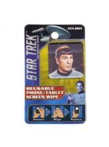 Star Trek Classic Spock Photo Image Reusable Phone/Tablet Screen Wipe NEW UNUSED - $2.99