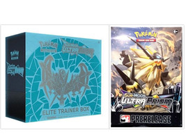 Pokemon TCG Dawn Wings Necrozma Elite Trainer Box + Ultra Prism Prerelease Kit - $69.99