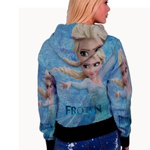 Frozen fearless anna   womens hoodie back thumb200