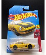 2018 Hot Wheels Nissan Fairlady Z Yellow Diecast - $2.95