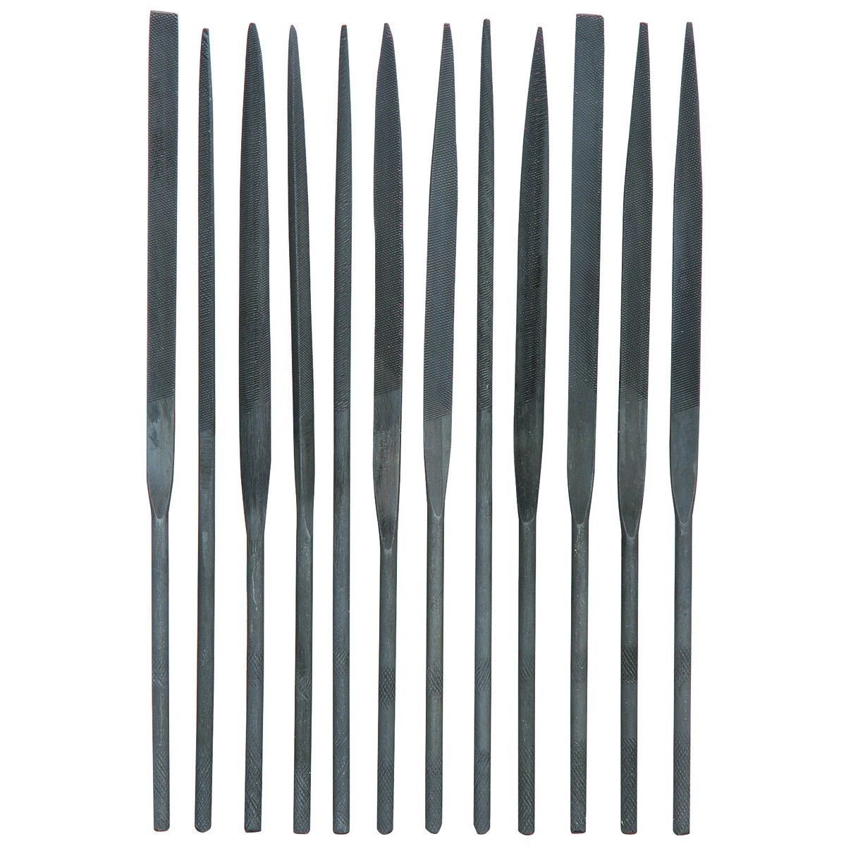Needle File Set 12 Piece Central Forge