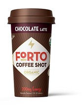FORTO Coffee Shots - 200mg Caffeine, Chocolate Latte, Ready-to-Drink on ... - $13.90