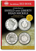 Guide Book of Shield & Liberty Head Nickels - Red Book, Whitman - $18.99