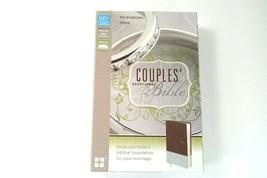 NIV Couples' Devotional Bible Zondervan                      Brand New I... - $29.98