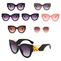 New Women Sunglasses Oversized Round Vintage Fashion Design Ladies Sungl... - $14.98