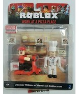 ROBLOX WORK AT A PIZZA PLACE FIGURE SET W/ EXCLUSIVE VIRTUAL CODE NEW SEALED - $23.99