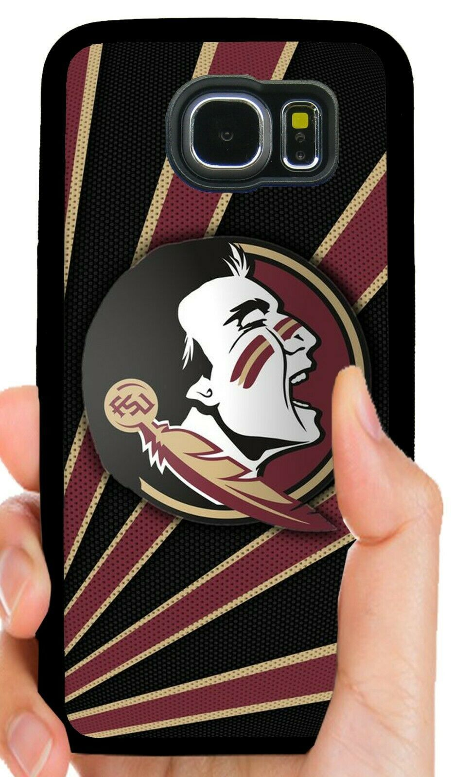 FLORIDA STATE FSU PHONE CASE FOR SAMSUNG NOTE & GALAXY S6 S7 EDGE S8 S9 S10 PLUS