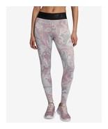 Nike Womens Sportswear Marble High-Waist Leggings Rosa Size Small - $52.25