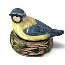 Mother Bird Nesting Eggs Salt & Pepper Shakers Hallmark MARJOLEIN BASTIN... - $21.60