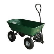 Garden Beautification Tool in Poly Body Steel Frame Dump Cart Extra Lon... - $109.99