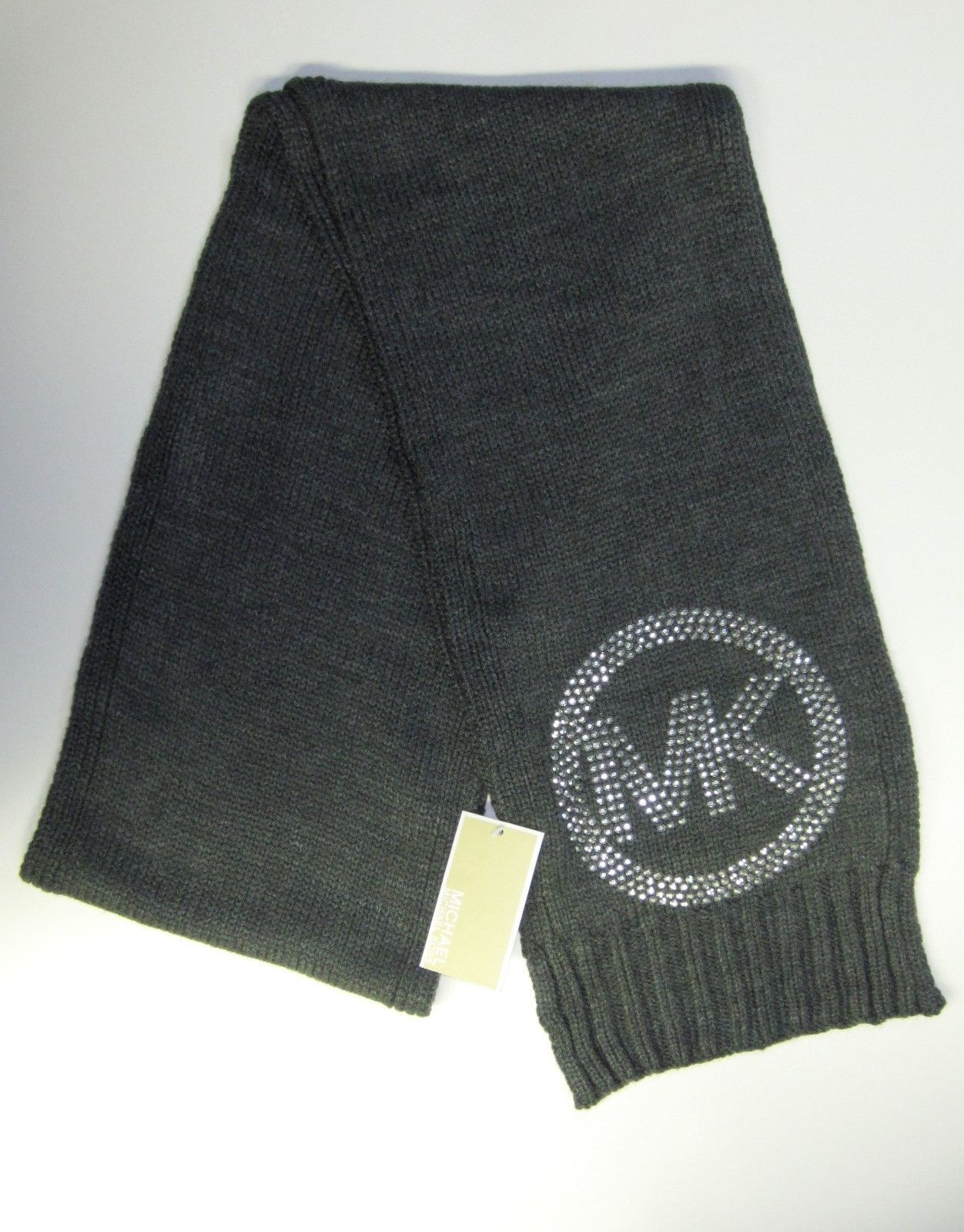 456dc0eb8 NWT Michael Kors Women's Gray Knit Scarf and 50 similar items
