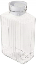 Anchor Hocking Glass Bistro Pitcher with White Stopper, 64-Ounce, Clear ... - $28.49