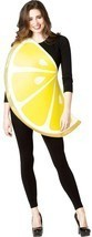 Lemon Slice Womens Costume Adult Fruit Food Yellow White Halloween Uniqu... - €43,50 EUR