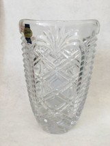"Fostoria Lead Crystal Glass 7-5/8"" Flower Vase w/Paper Tag - $27.07"