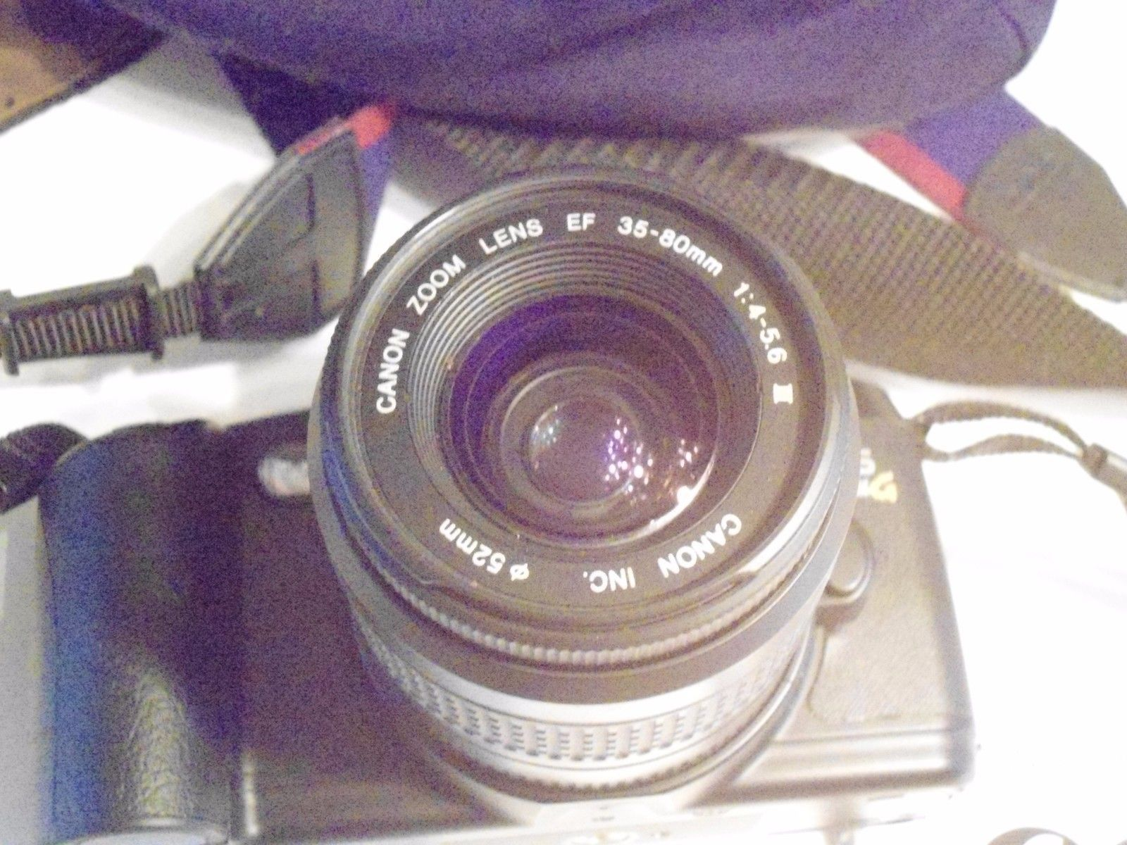 CANON EOS REBEL G CAMERA With Bag and Extra Filter