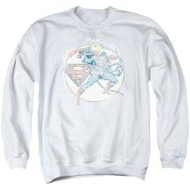Dco - Retro Superman Iron On Adult Crewneck Sweatshirt Officially Licensed Appar - $29.99+
