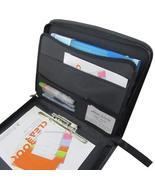 Black Document Organizer Portfolio Padfolio Folder Case Bag (35.5x27.5x4... - €36,07 EUR