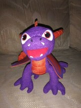 "Activision Spyro The Dragon Plush 7"" Makes Sound 2012 Stuffed Animal Just Play - $16.82"