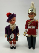 "ROGARK 1960s Plastic Hand-Dressed Scottish Highlander And Guard 6"" 20-195 - $25.60"