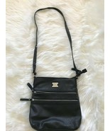 Style & Co. Faux Leather Black Cross Body Bag - $14.95