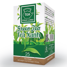 03 Boxes ( 1 box 25 packs) - Green Tea Bag - Tra Xanh Tui Loc - Phuc Long - $39.59