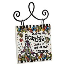 Enesco Stumble Plaque, Multicolor - $11.75