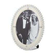 Rhinestone Shine Oval Photo Frame 5x7 - $21.31