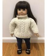 American Girl Doll - Pleasant Company - Dark Brown Brunette Hair & Blue ... - $64.30