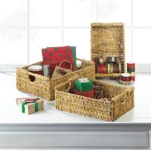 Maize Straw Storage Baskets Set of 3 - $39.95